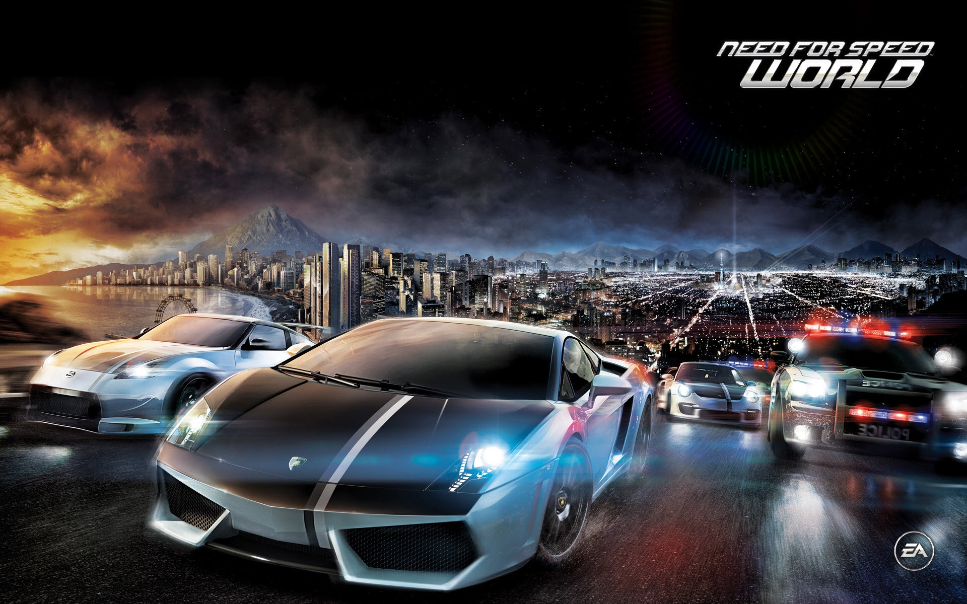 Need for Speed World for 1920 x 1200 widescreen resolution