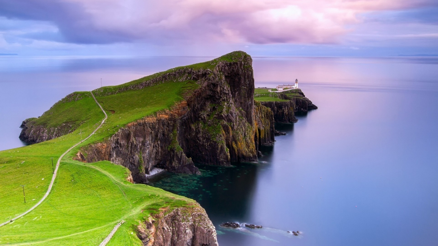Neist Point Lighthouse for 1536 x 864 HDTV resolution