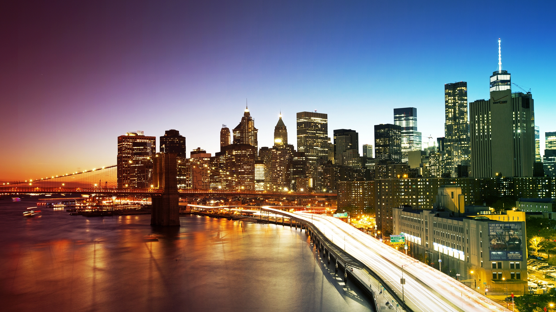 New York City Colors 1920 X 1080 Hdtv 1080p Wallpaper