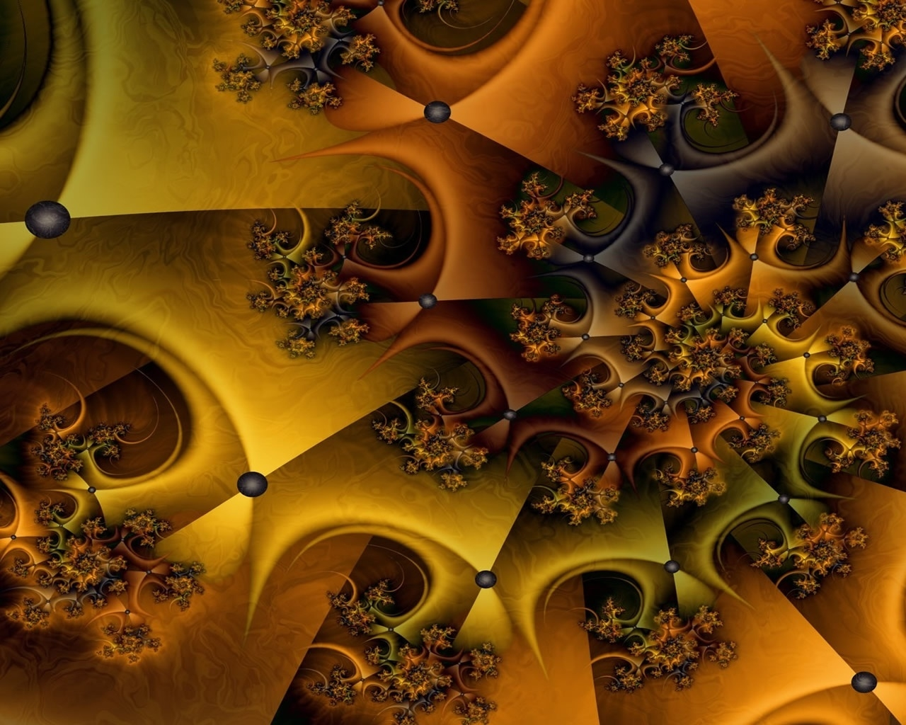 Nice fractal for 1280 x 1024 resolution