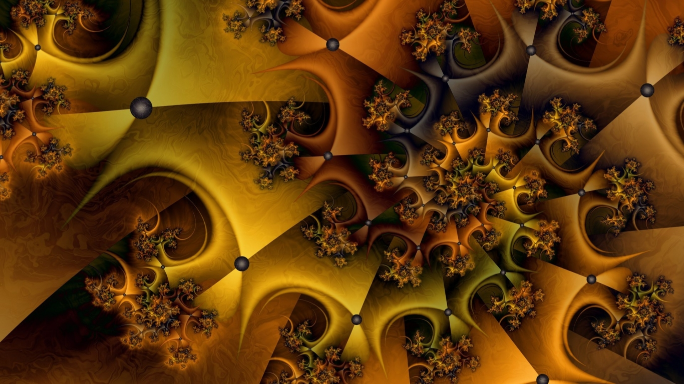 Nice fractal for 1366 x 768 HDTV resolution