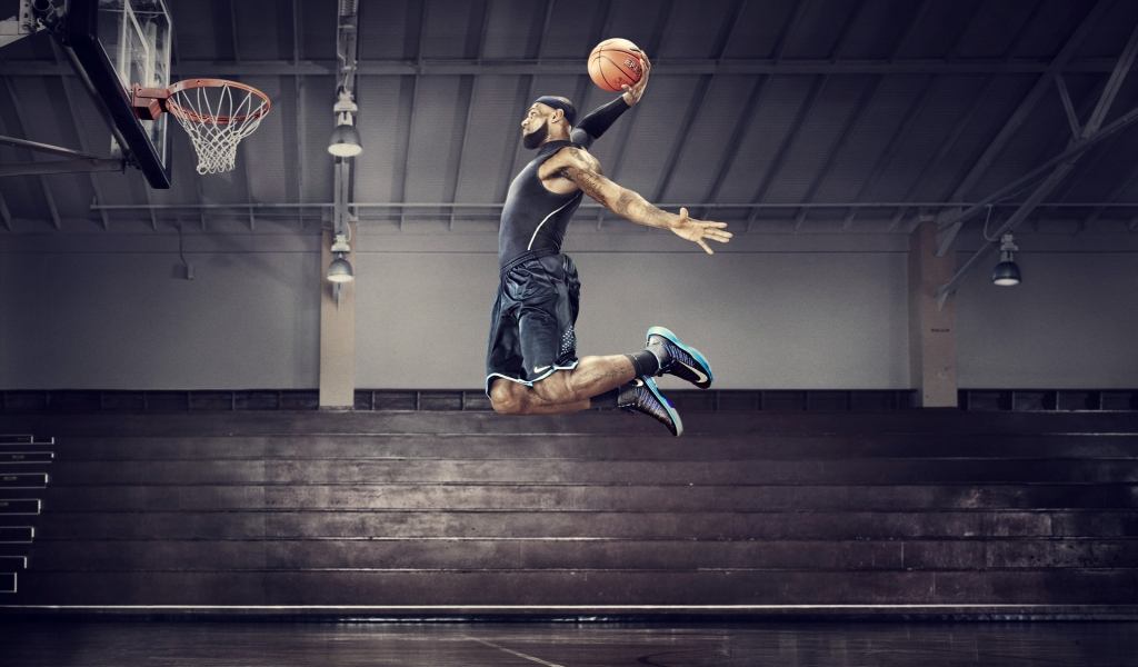 Nike Basketball for 1024 x 600 widescreen resolution