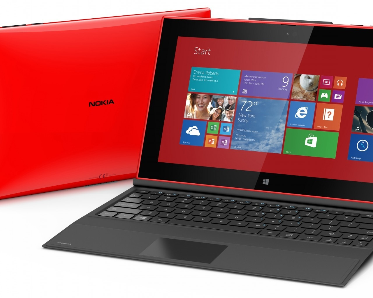 Nokia Lumia 2520 Tablet for 1280 x 1024 resolution