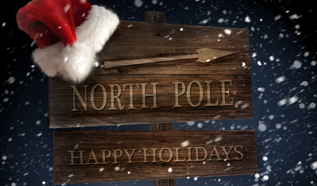 North Pole for 1024 x 600 widescreen resolution
