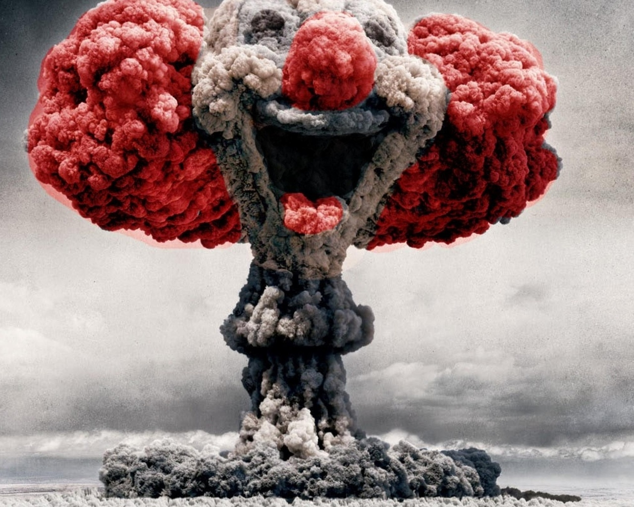 Nuclear Clown for 1280 x 1024 resolution