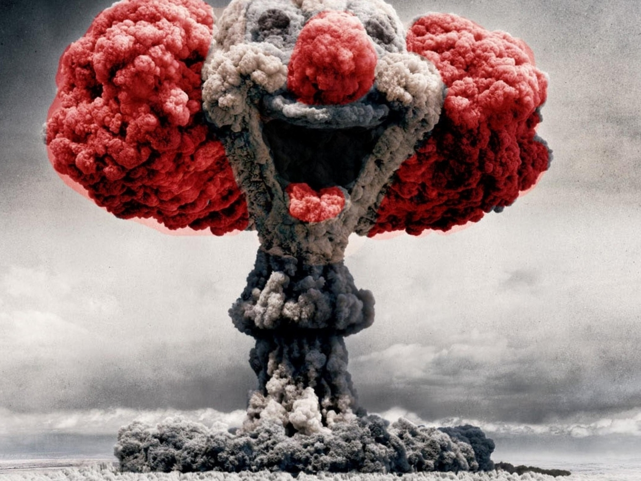 Nuclear Clown for 1280 x 960 resolution