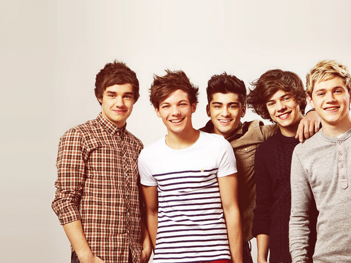 One Direction Young for 1152 x 864 resolution