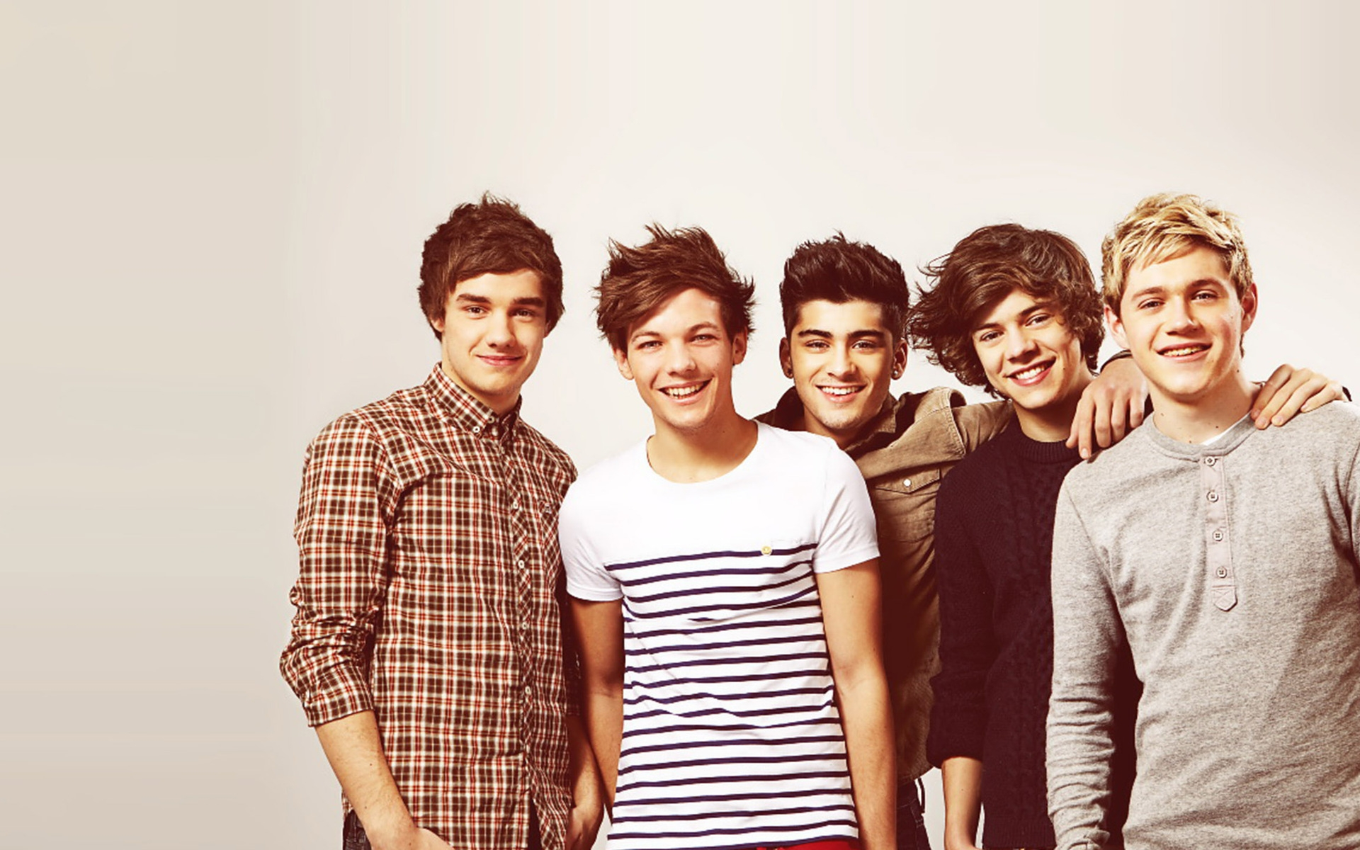 One Direction Young for 1920 x 1200 widescreen resolution