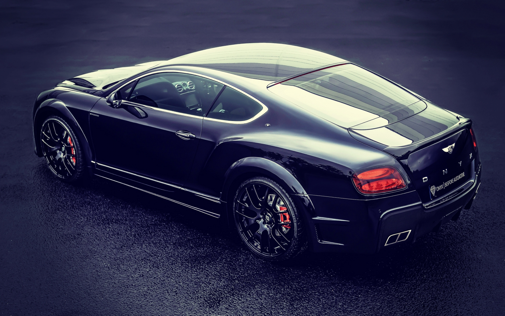 Onyx Bentley Continental Concept for 1680 x 1050 widescreen resolution