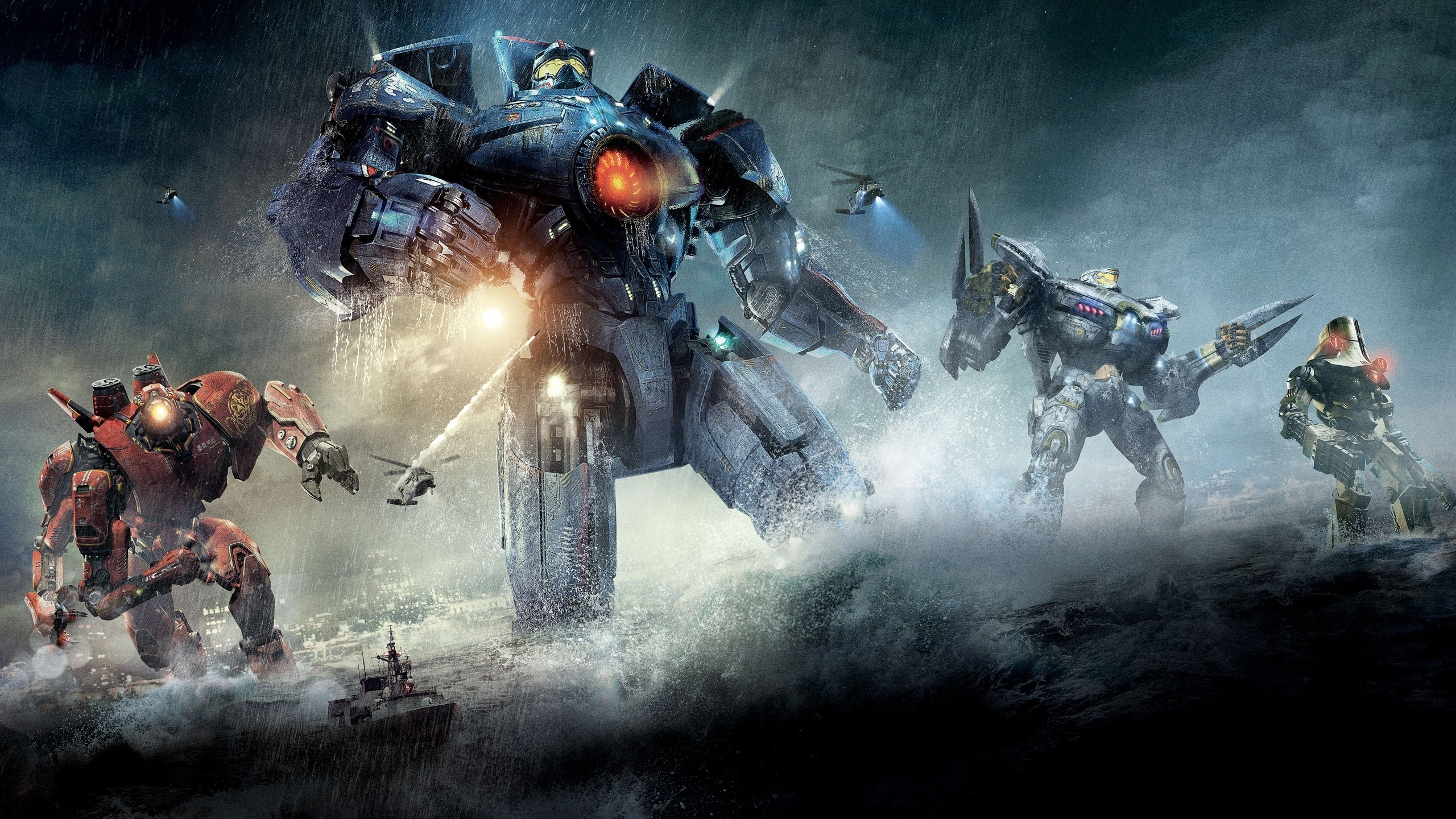 Pacific Rim Robots for 2560x1440 HDTV resolution