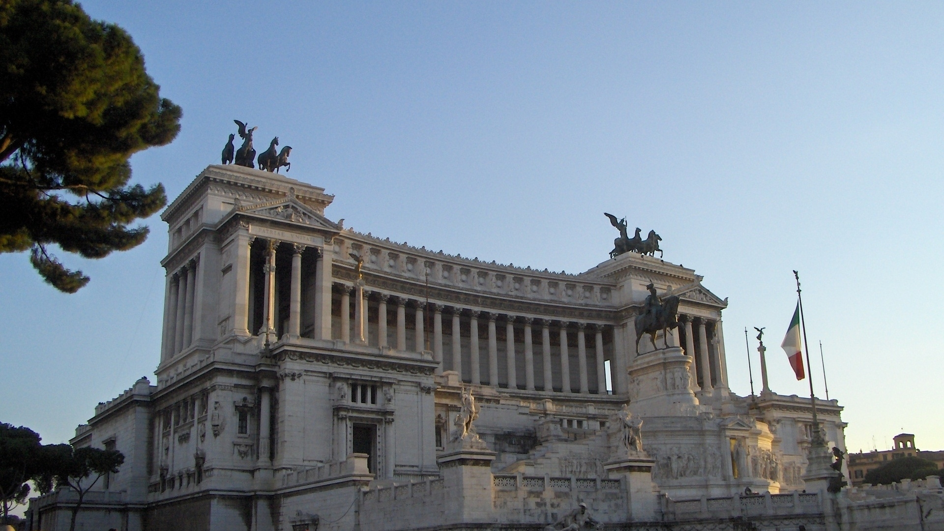 Parliament of Rome for 1920 x 1080 HDTV 1080p resolution