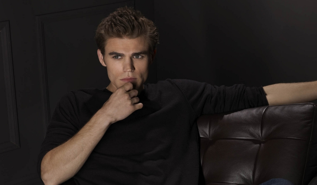 Paul Wesley for 1024 x 600 widescreen resolution