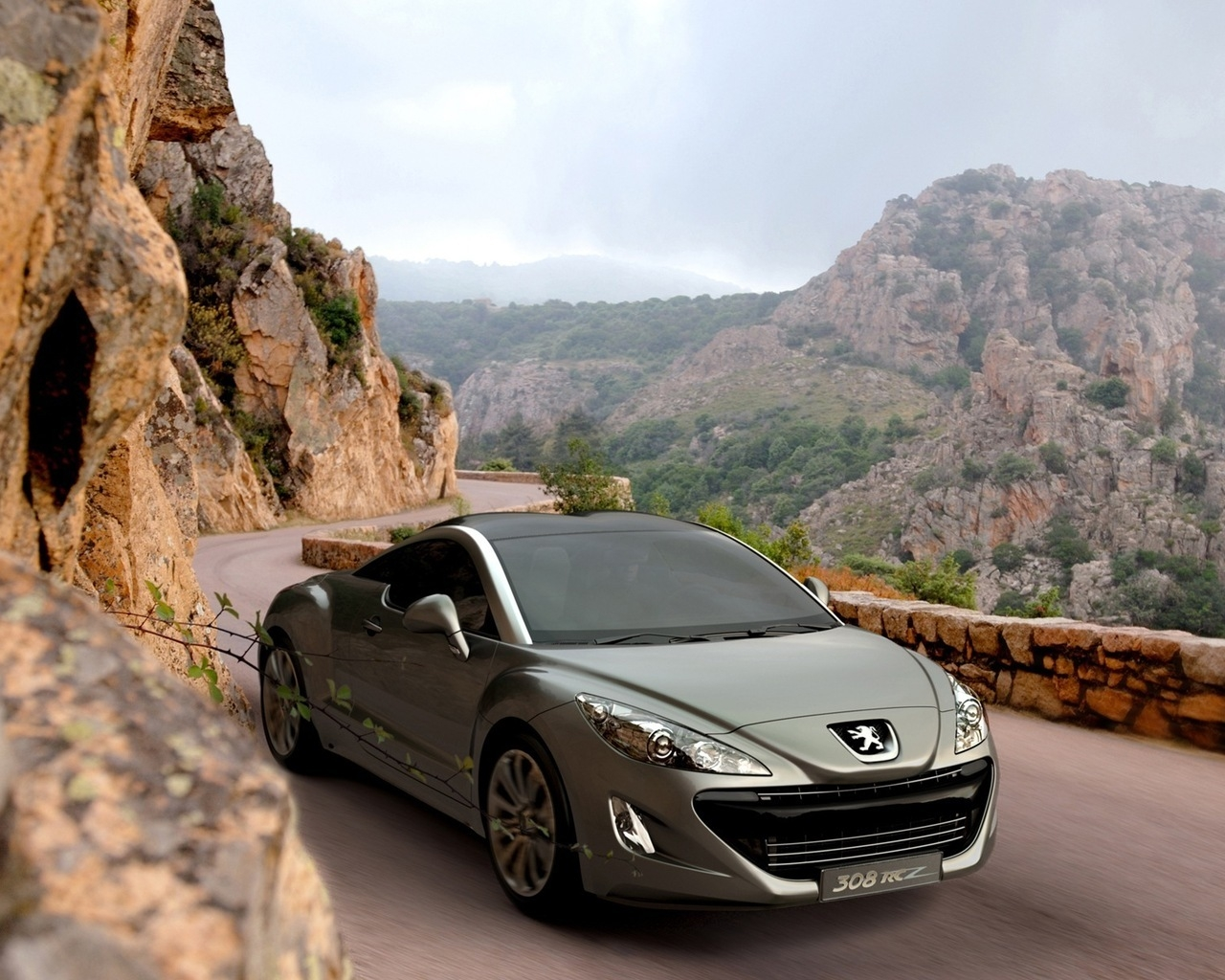 Peugeot 308 RCZ for 1280 x 1024 resolution