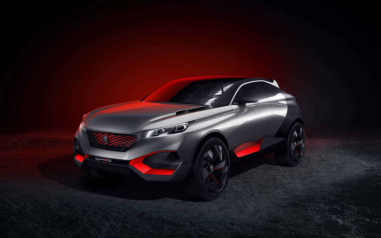 Peugeot Quartz Concept for 1280 x 800 widescreen resolution