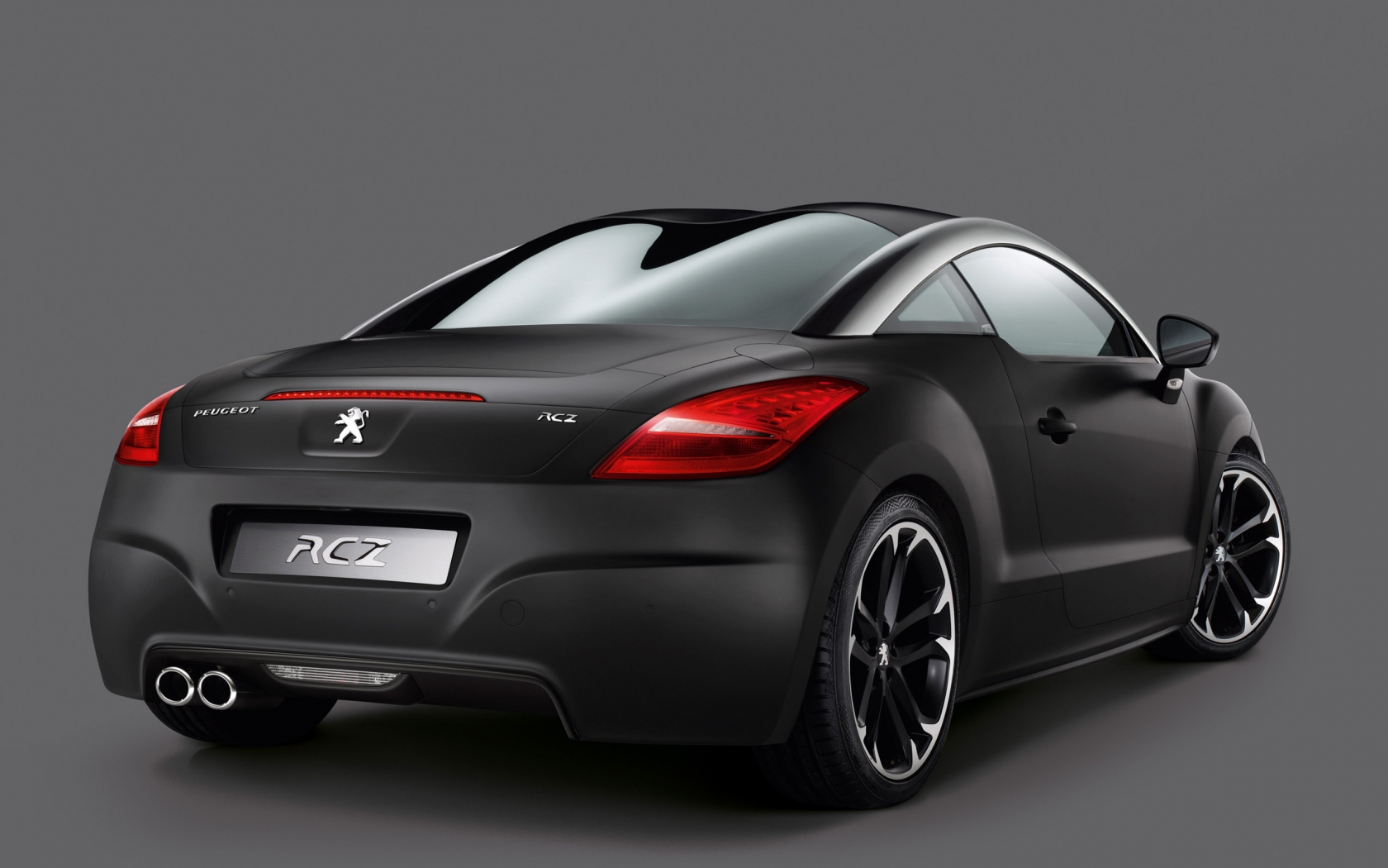 Peugeot RCZ Asphalt Rear for 1680 x 1050 widescreen resolution