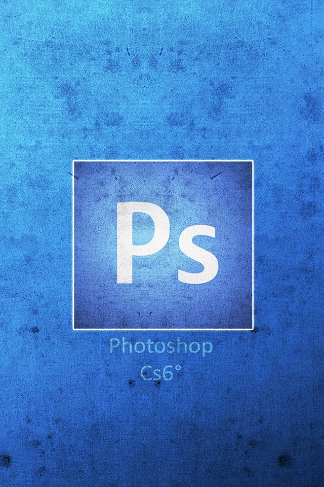 Photoshop CS6 Logo 640 x 960 iPhone 4 Wallpaper