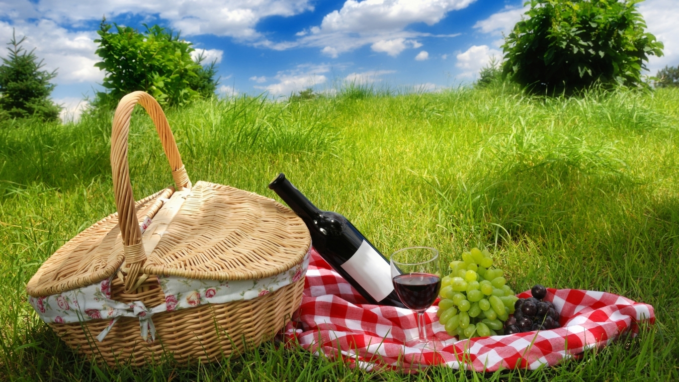 Picnic for 1366 x 768 HDTV resolution