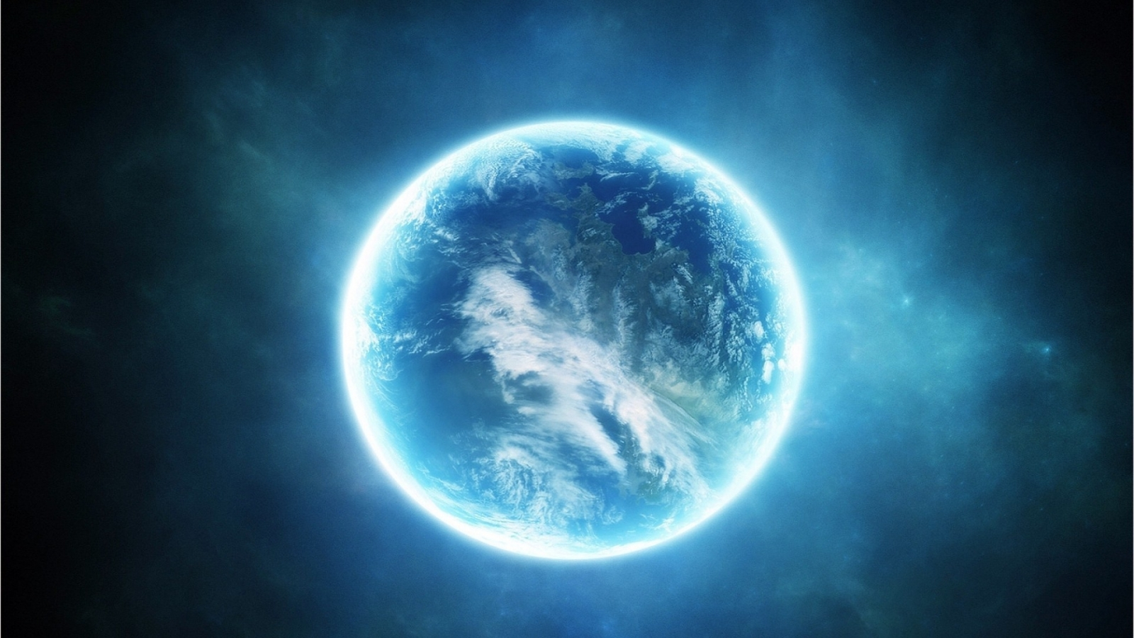 Planet Poster for 1600 x 900 HDTV resolution
