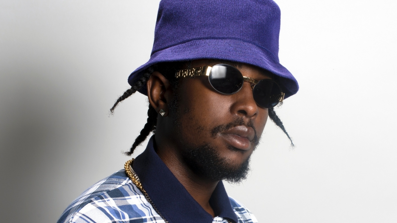 Popcaan Poster for 1366 x 768 HDTV resolution