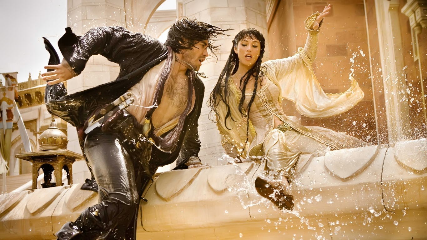 Prince Of Persia: The Sands of Time Movie for 1366 x 768 HDTV resolution
