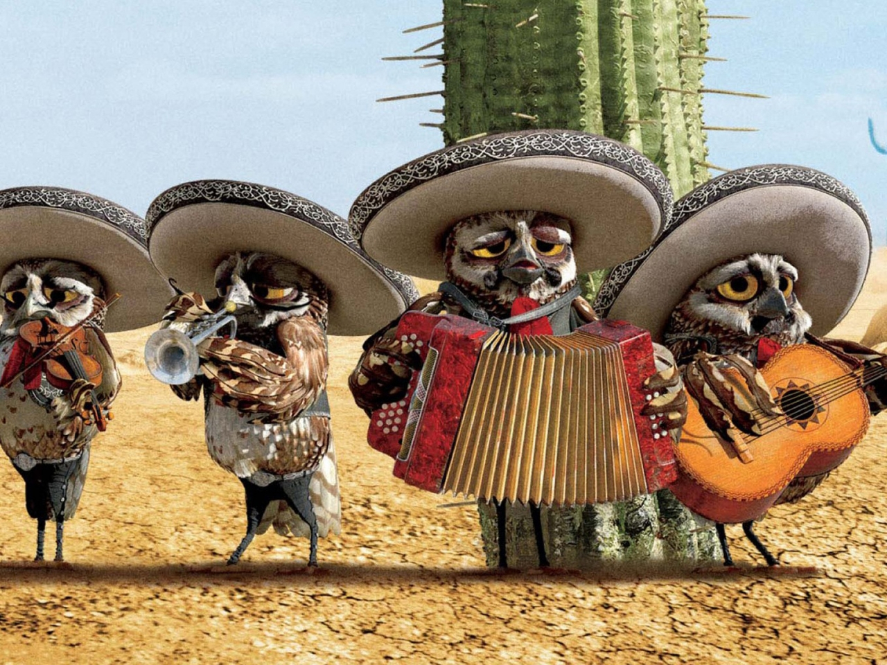 Rango Mariachi for 1280 x 960 resolution