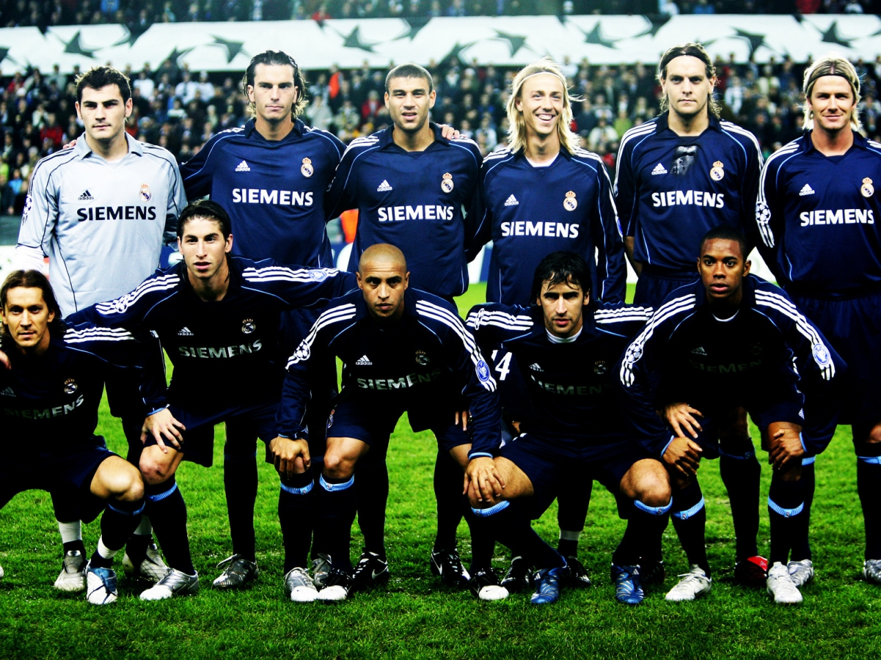 Real Madrid Team for 1280 x 960 resolution