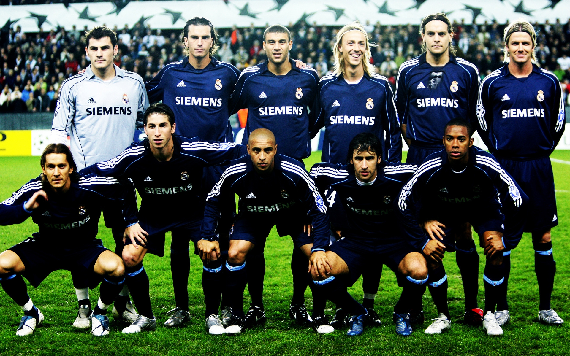 Real Madrid Team for 1920 x 1200 widescreen resolution
