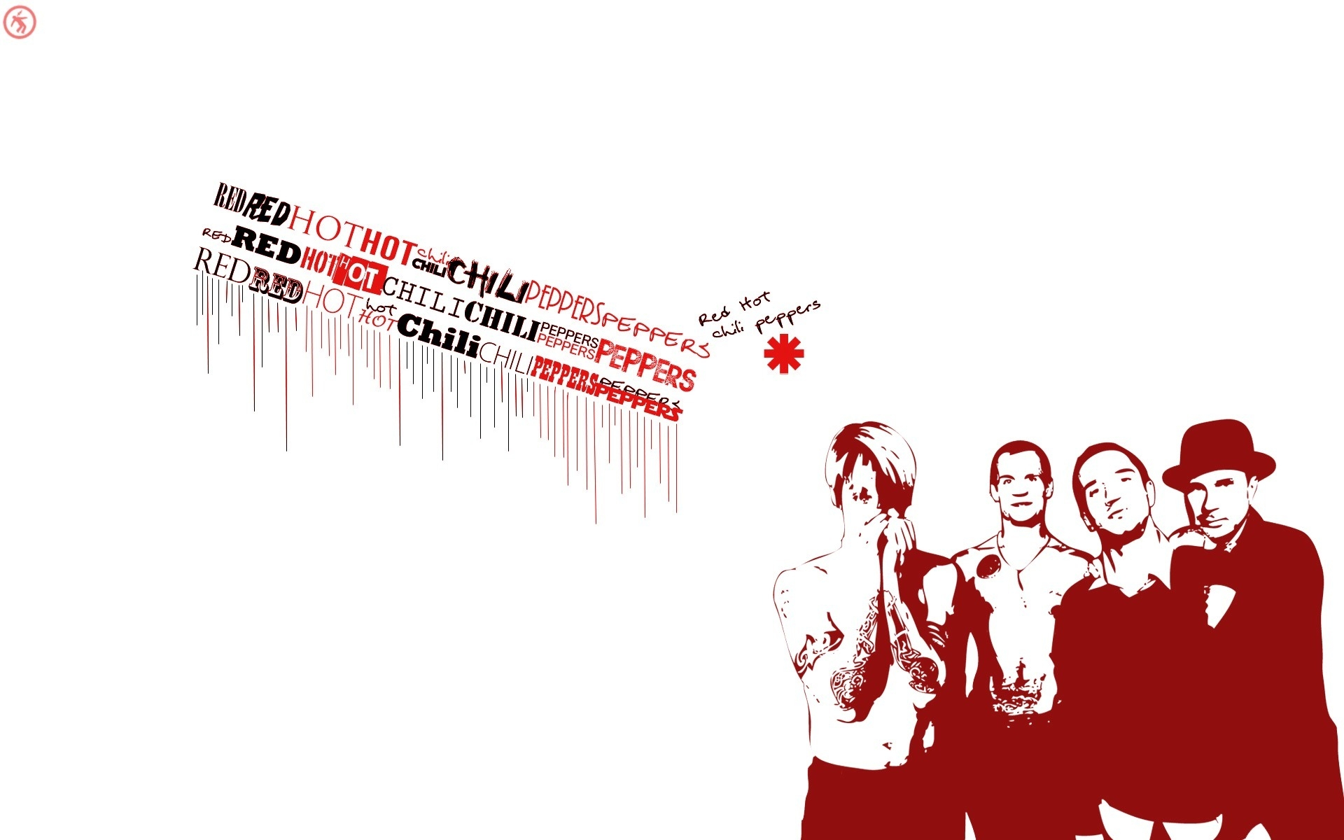 Red Hot Chili Peppers Poster Hd Wallpaper Wallpaperfx