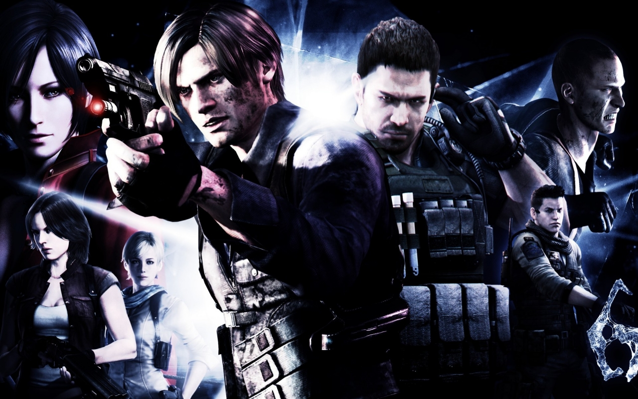 Resident Evil 6 Leon Scott Kennedy Hd Wallpaper Wallpaperfx