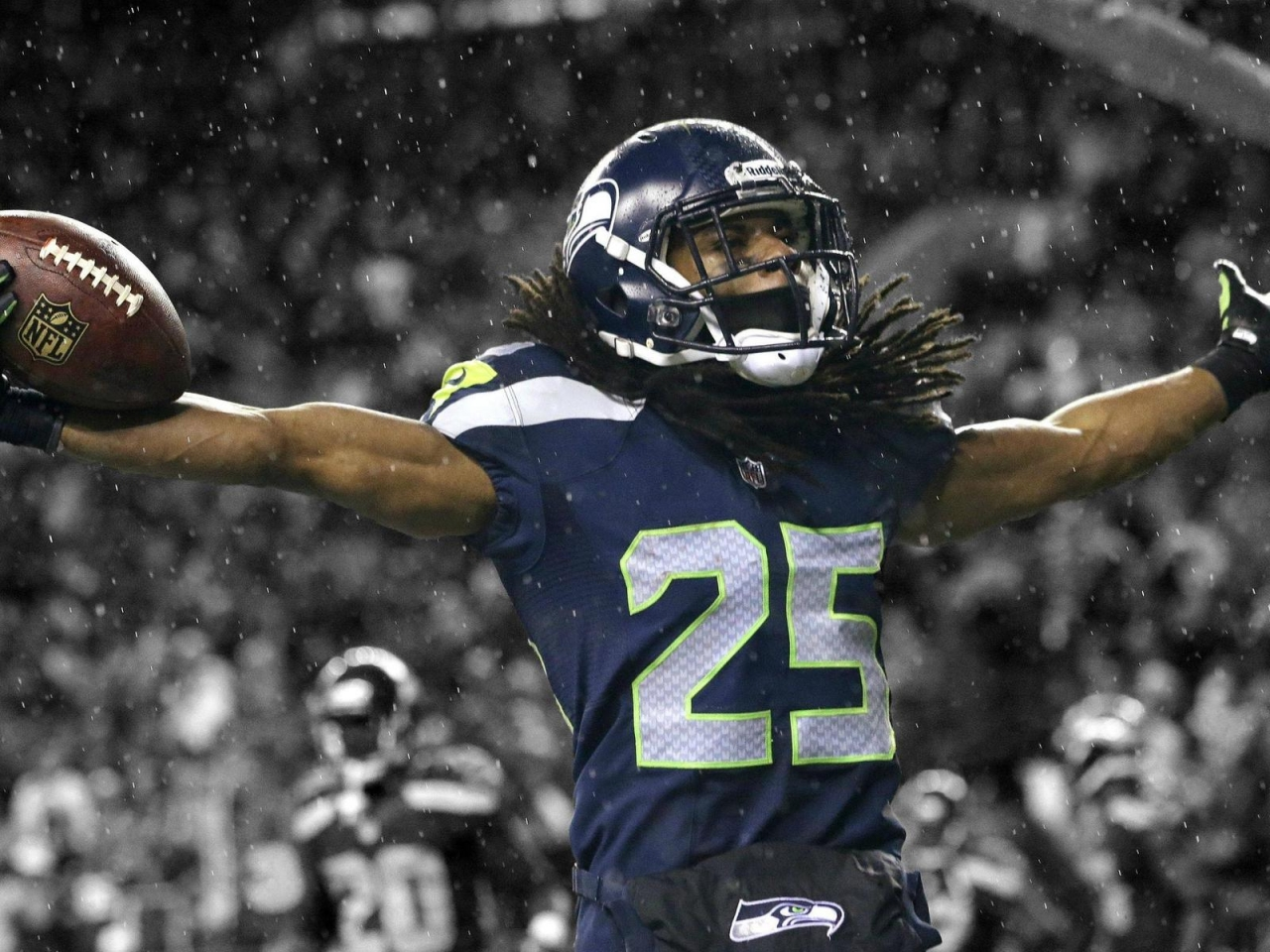 Richard Sherman Seahawks for 1280 x 960 resolution