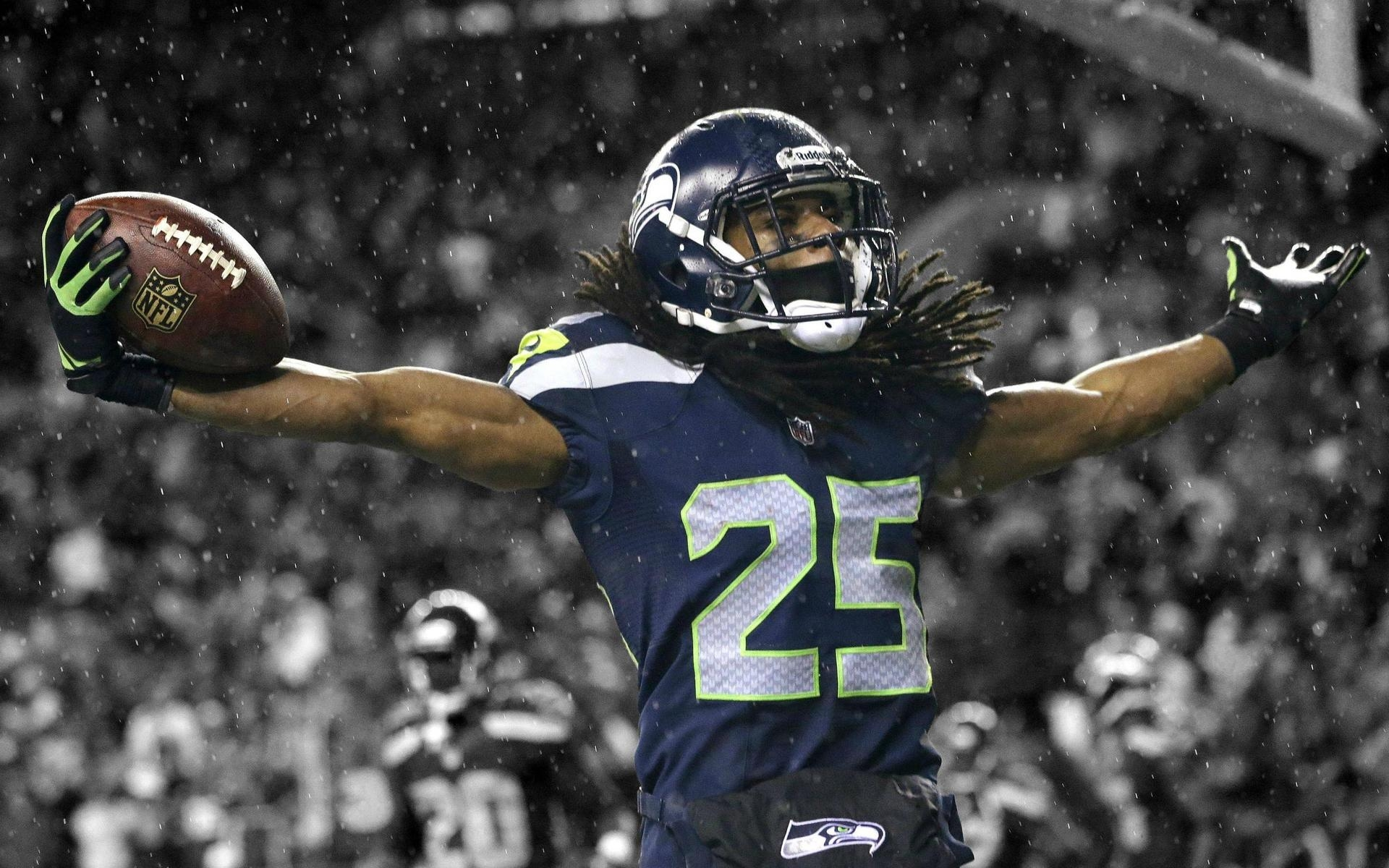 Richard Sherman Seahawks for 1920 x 1200 widescreen resolution