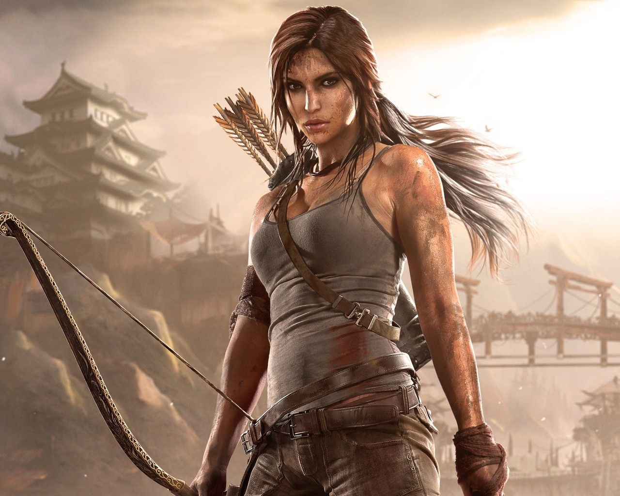 Rise of the Tomb Raider Lara Croft for 1280 x 1024 resolution