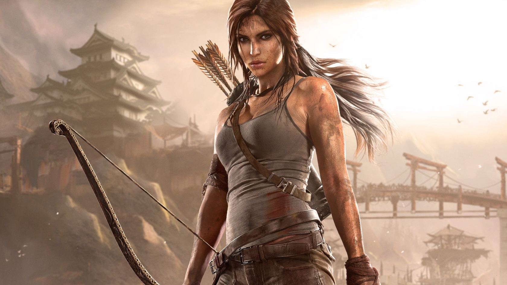Rise of the Tomb Raider Lara Croft for 1680 x 945 HDTV resolution