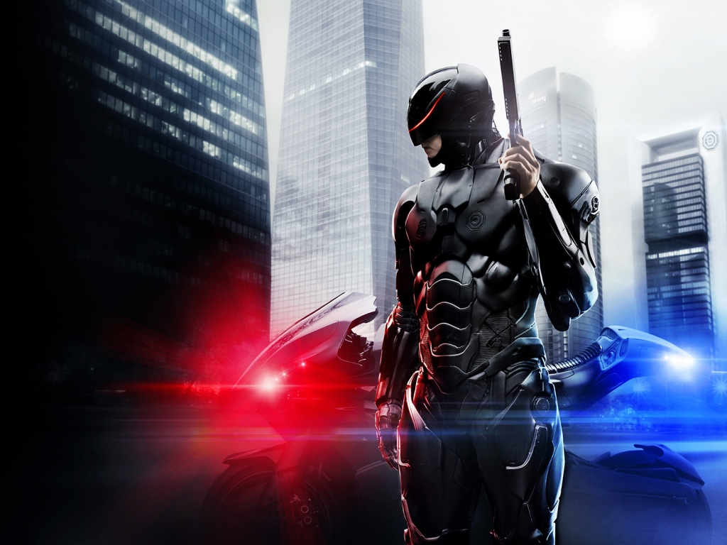 Robocop Movie 2014 for 1024 x 768 resolution