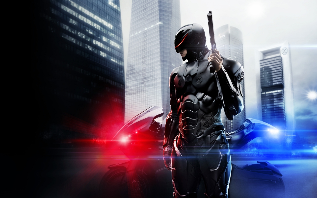 Robocop Movie 2014 for 1280 x 800 widescreen resolution