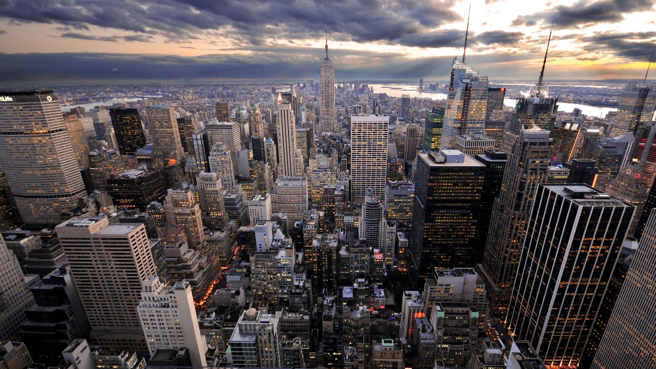 Rockefeller\'s View for 1280 x 720 HDTV 720p resolution