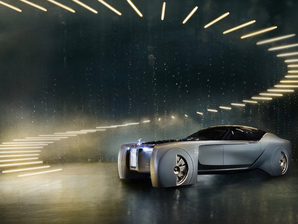 Rolls-Royce Concept Car 2016 for 1024 x 768 resolution