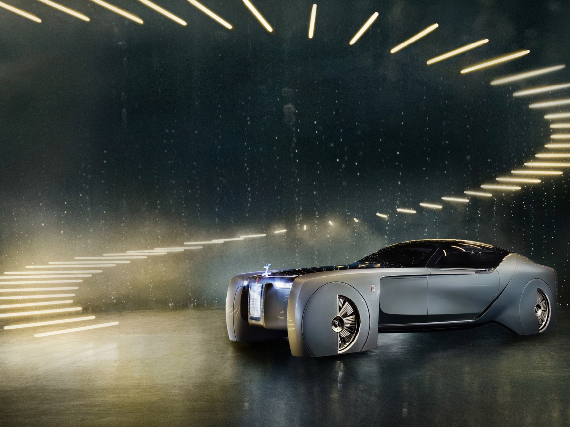 Rolls-Royce Concept Car 2016 for 1152 x 864 resolution