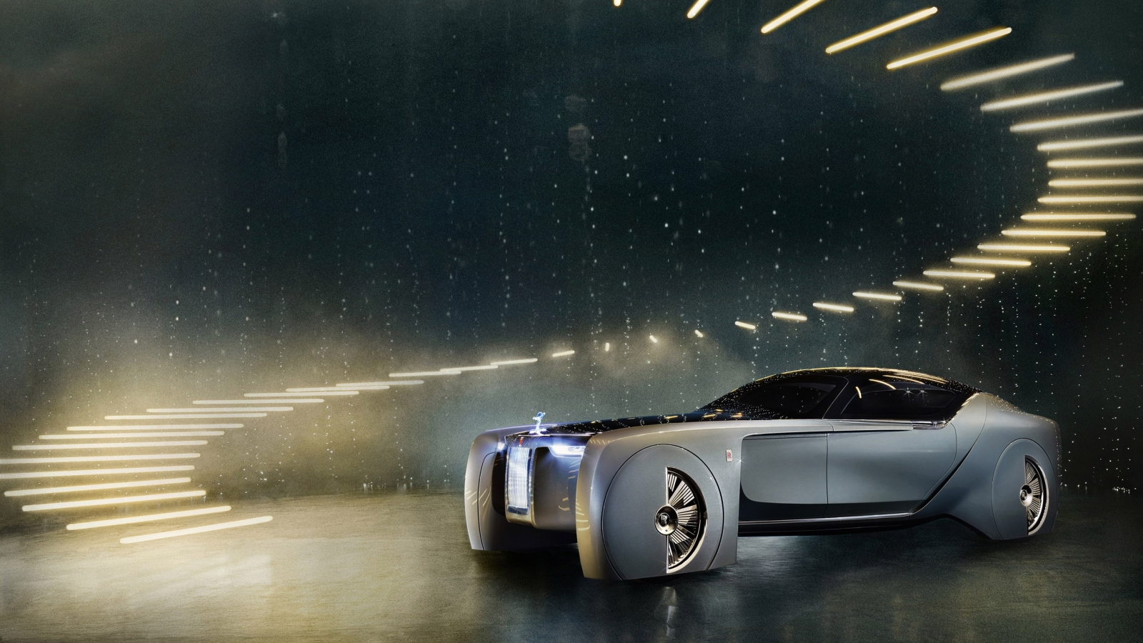 Rolls-Royce Concept Car 2016 for 1600 x 900 HDTV resolution