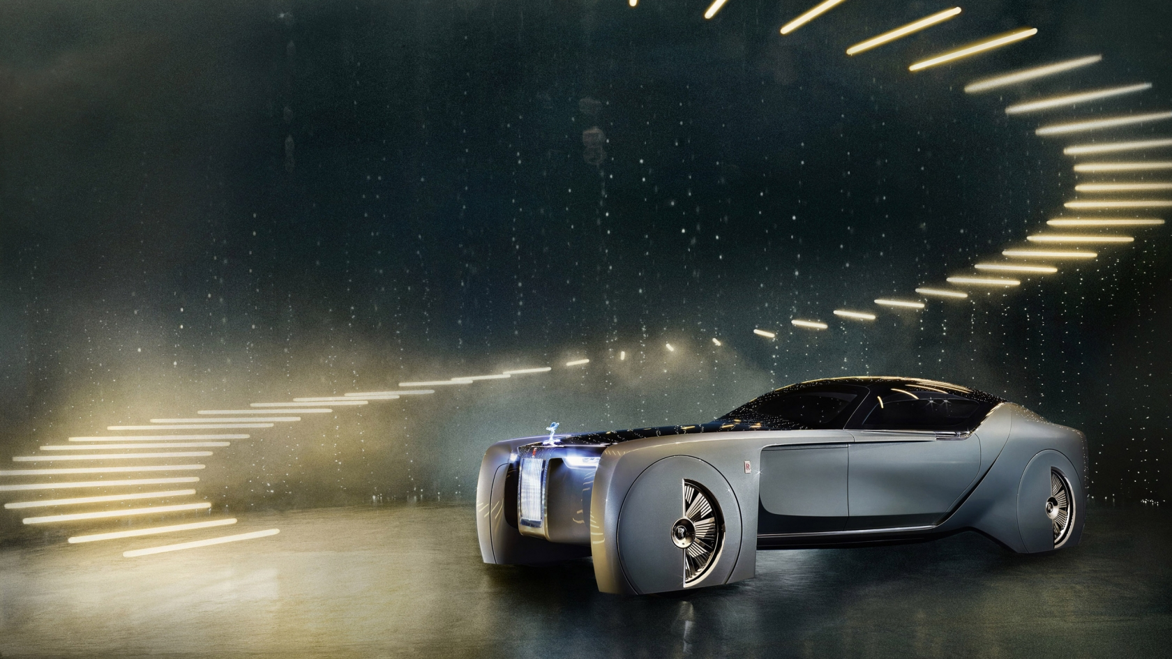 Rolls-Royce Concept Car 2016 for 1680 x 945 HDTV resolution