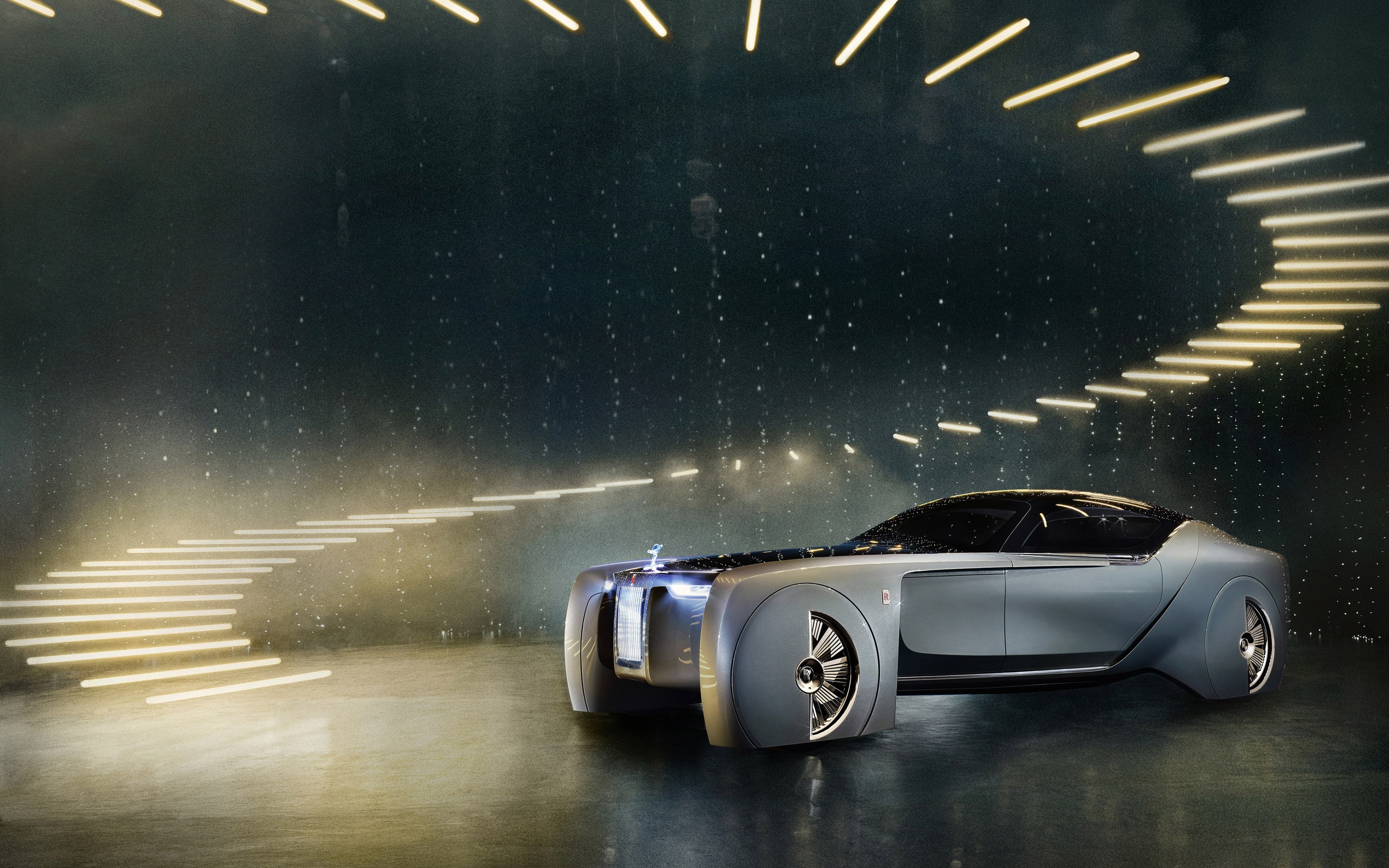 Rolls-Royce Concept Car 2016 for 2880 x 1800 Retina Display resolution