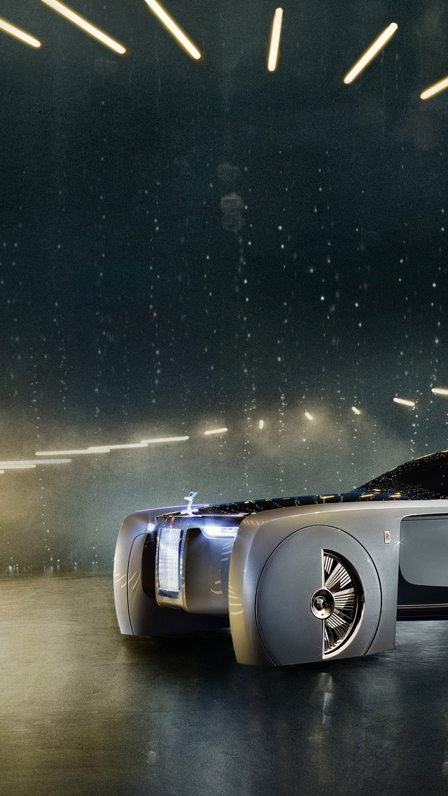Rolls-Royce Concept Car 2016 for 640 x 1136 iPhone 5 resolution