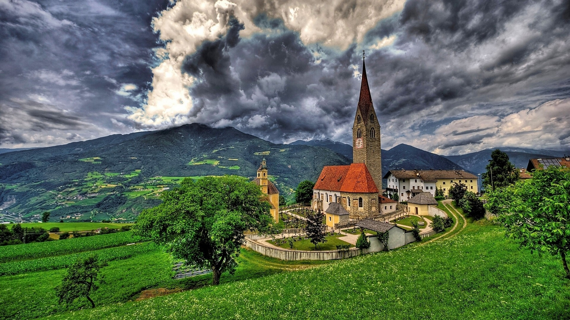 Saint Michael Church Brixen for 1920 x 1080 HDTV 1080p resolution