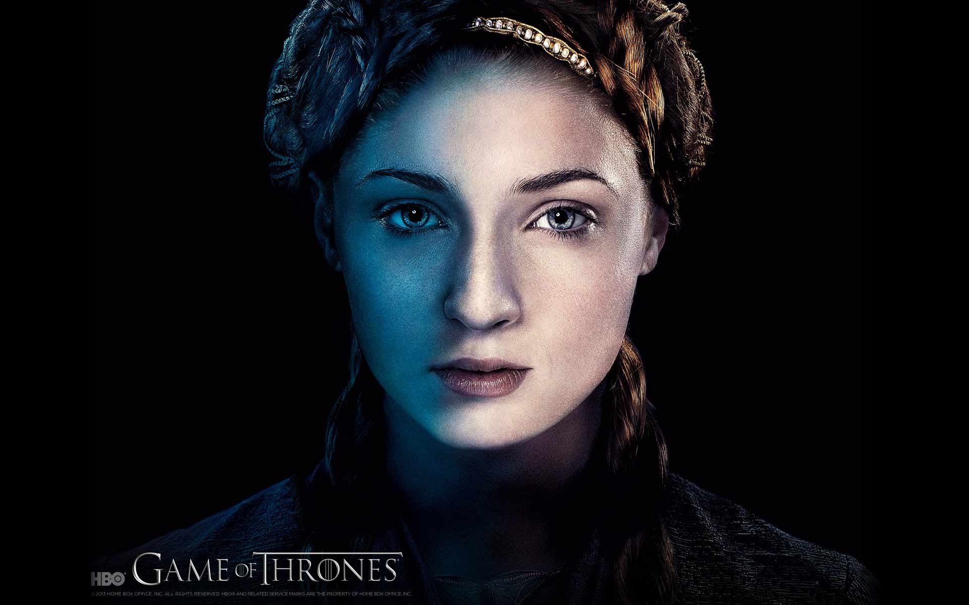 Sansa Stark Game of Thrones for 1920 x 1200 widescreen resolution