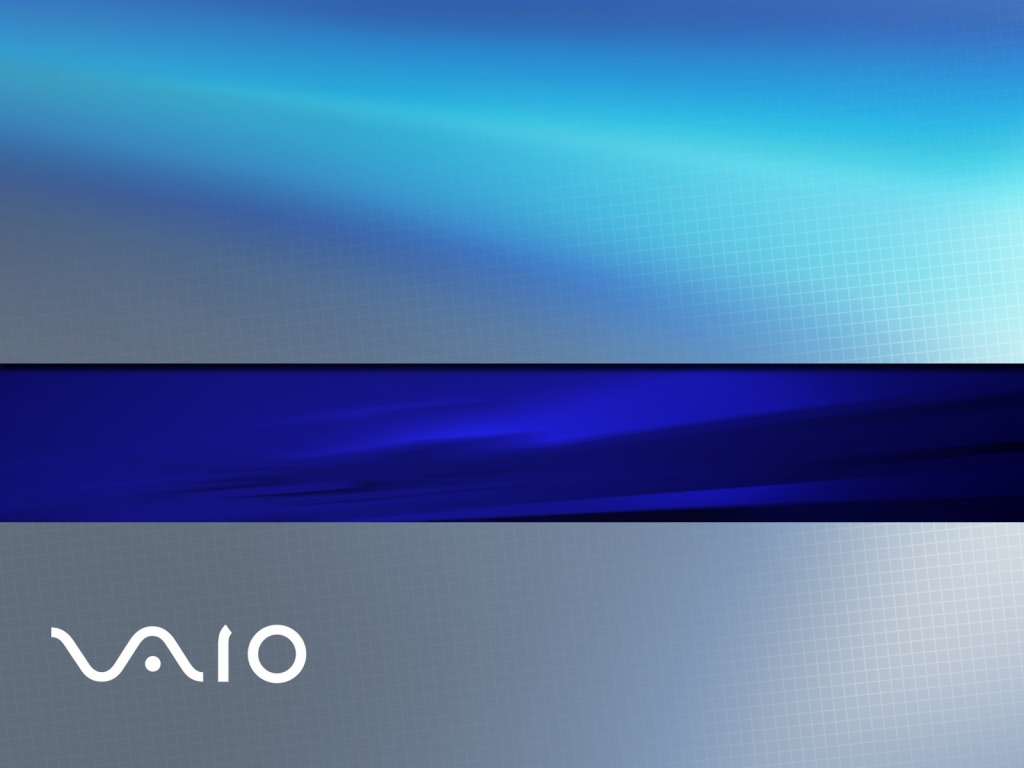 Sony Vaio blue for 1024 x 768 resolution