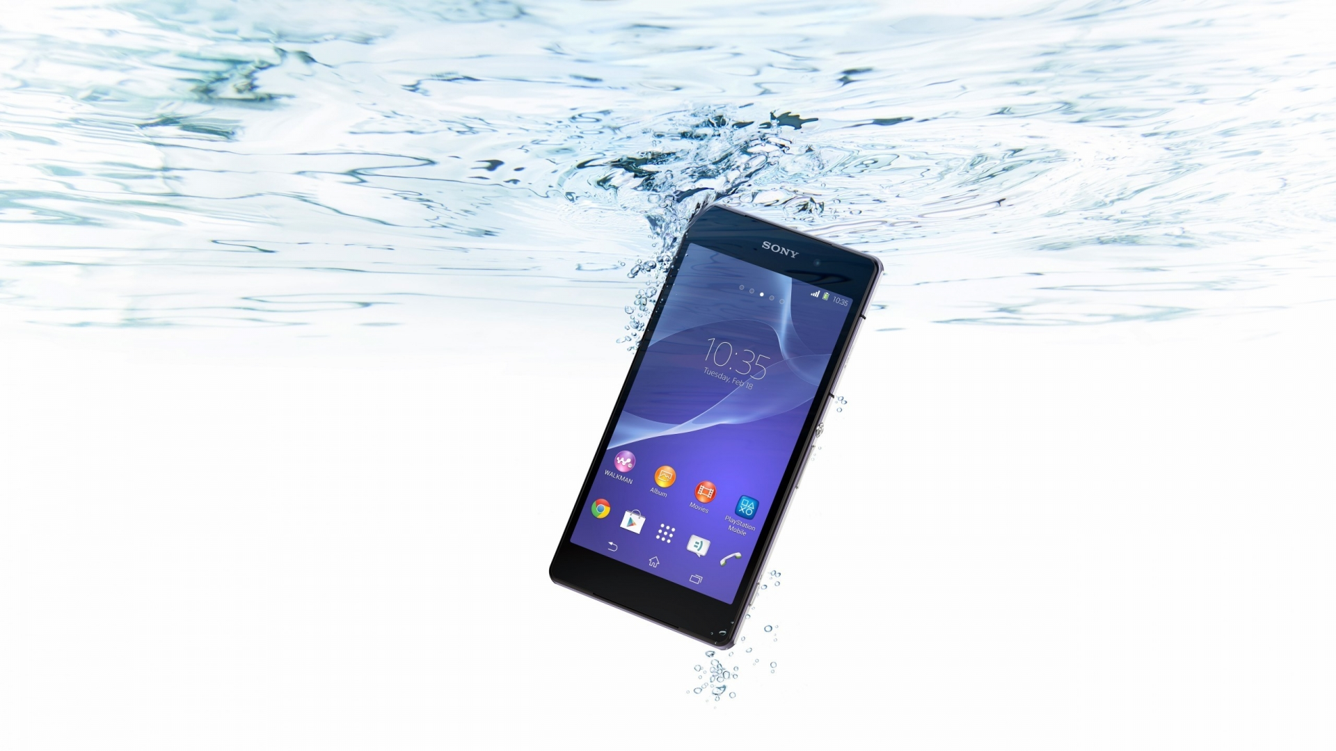 Sony Xperia Z2 Waterproof for 1920 x 1080 HDTV 1080p resolution