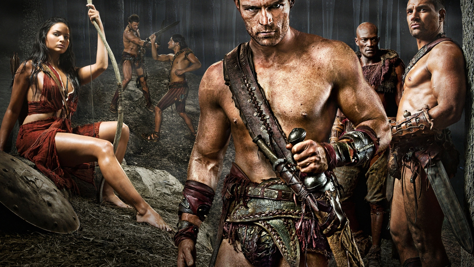 Spartacus Poster for 1600 x 900 HDTV resolution