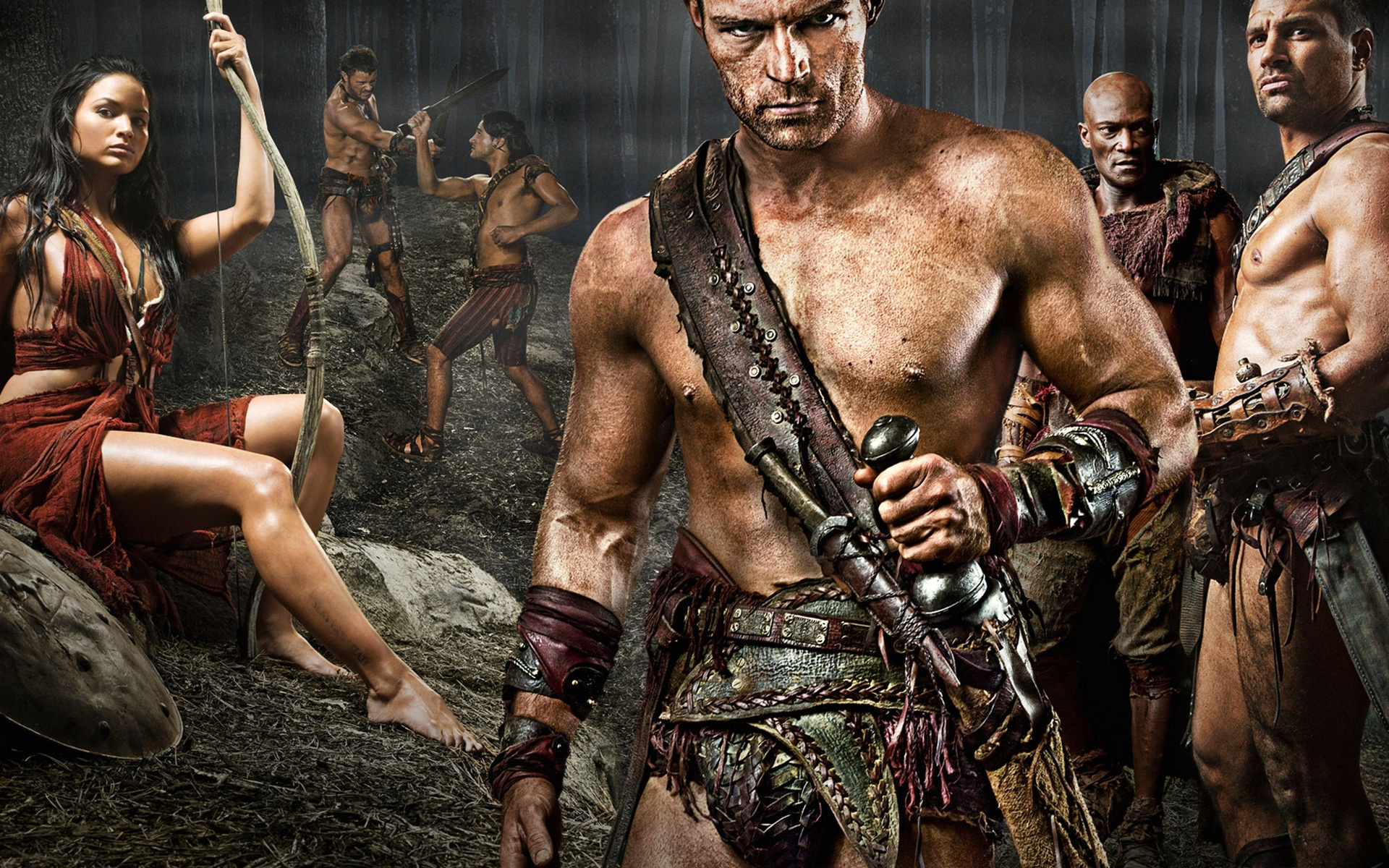 Spartacus Poster for 1920 x 1200 widescreen resolution