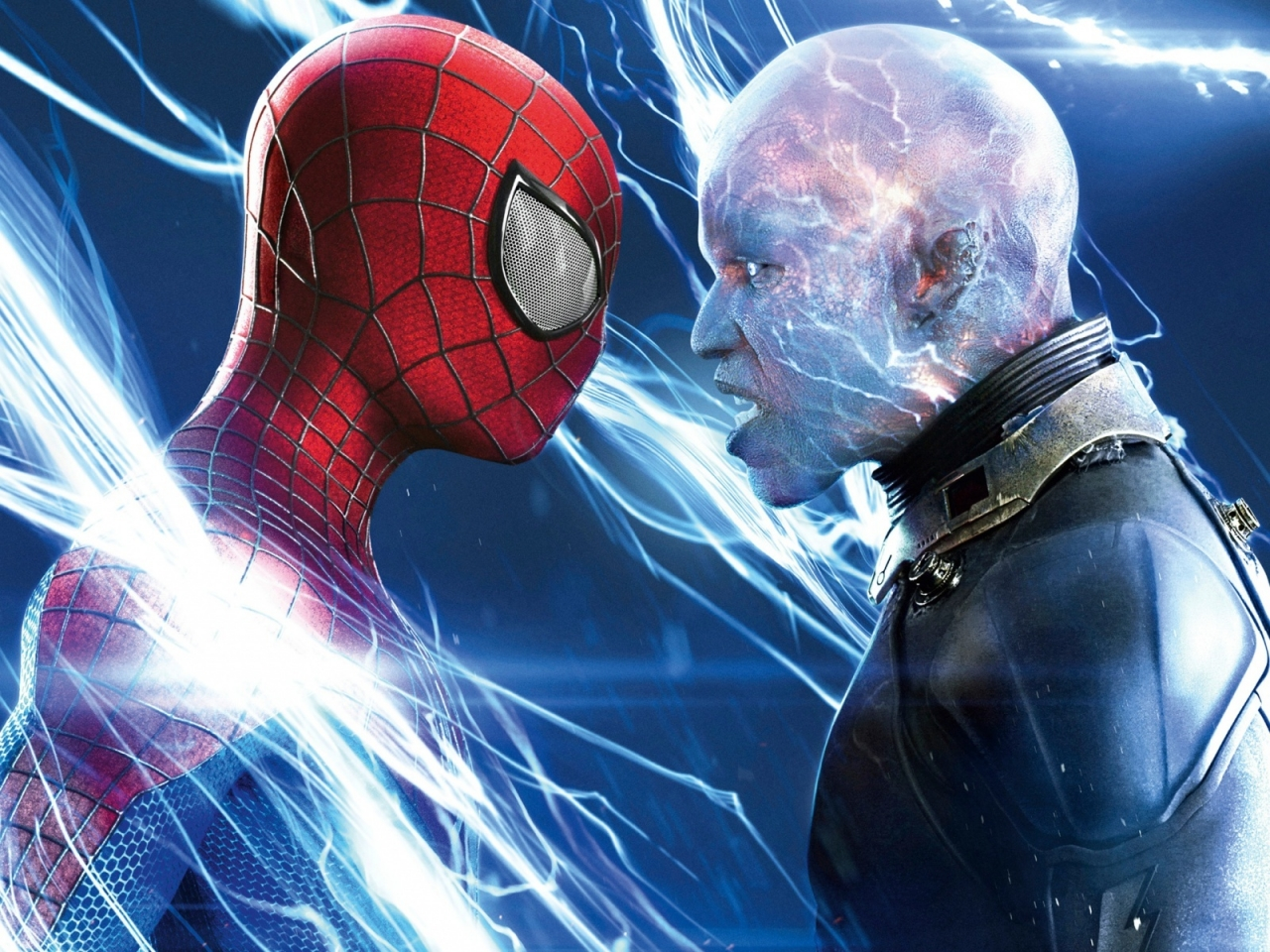 Spiderman vs Electro for 1280 x 960 resolution