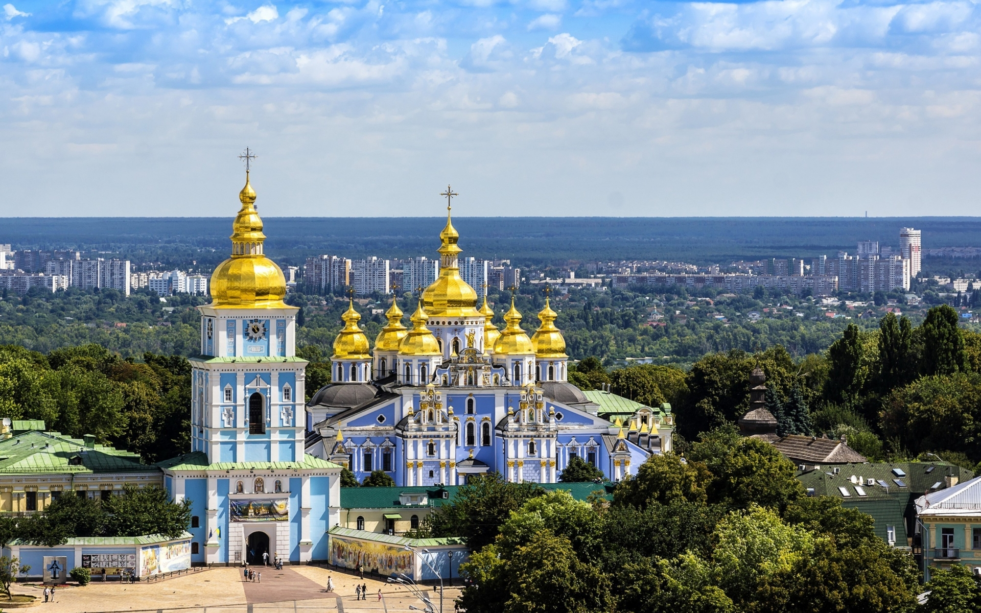 St Michael Cathedral Kiev for 1920 x 1200 widescreen resolution